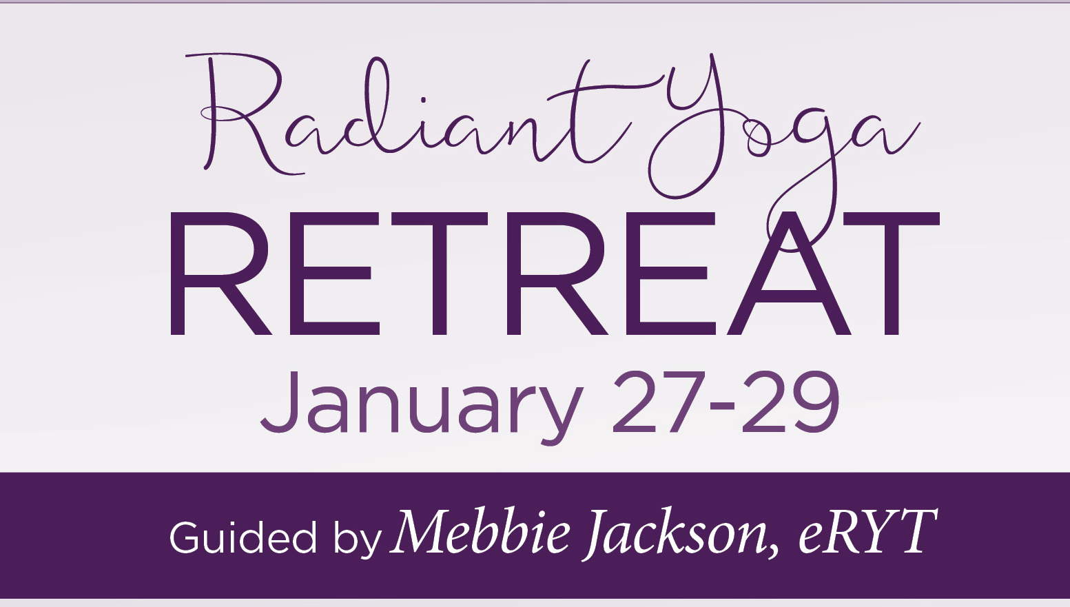 RadiantYoga Weekend